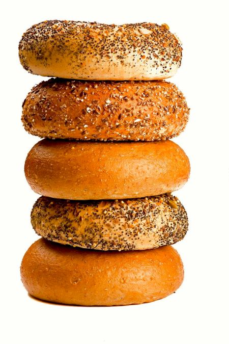 stacked-bagel